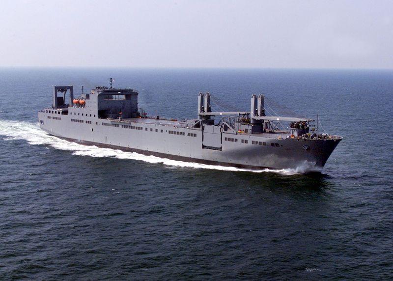 LAST SEALIFT SHIP DELIVERED - USNS Benavidez (T-AKR 306)