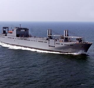 Photo Release -- Northrop Grumman Delivers Final Bob Hope-Class Sealift Ship, USNS Benavidez, to U.S. Navy