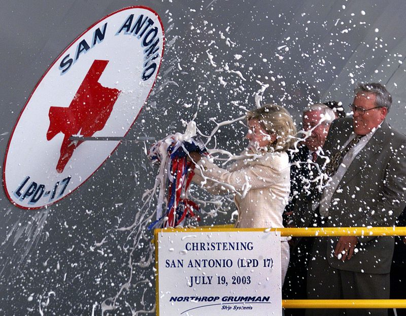 SAN ANTONIO CHRISTENING