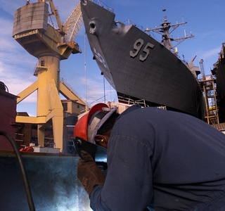 Photo Release -- New Aegis Destroyer James E. Williams Set for Christening at Northrop Grumman
