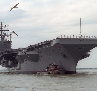 Photo Release -- Northrop Grumman Successfully Completes Acceptance Trials on the Aircraft Carrier Ronald Reagan (CVN 76)