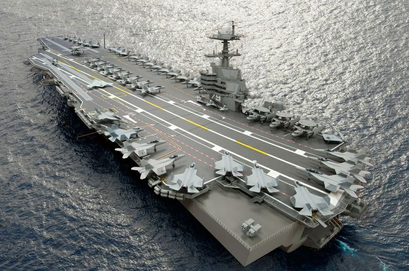 Aircraft carrier John F. Kennedy (CVN 79)
