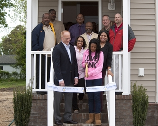 Newport News Shipbuilding Dedicates 11th Habitat for Humanity House