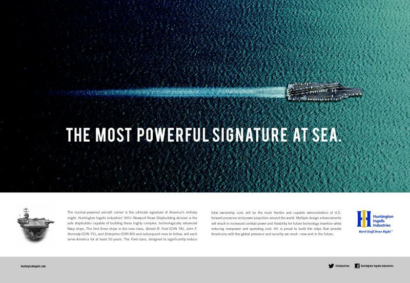 The Most Powerful Signature At Sea