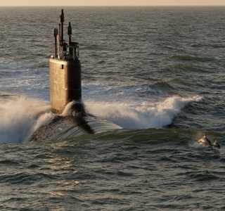 Photo Release -- Submarine Minnesota Delivered on Budget and Ahead of Schedule