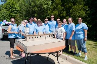 "Newport News Shipbuilding's ""The Yard"" team"