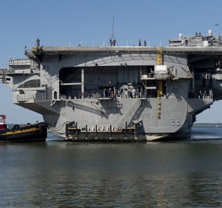 Huntington Ingalls Industries Completes Inactivation of First Nuclear-Powered Aircraft Carrier Enterprise (CVN 65)