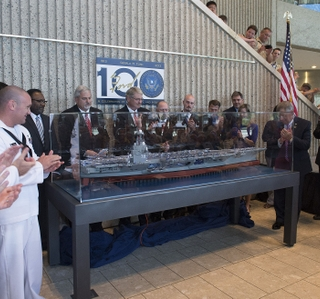 Photo Release -- Shipbuilders Participate in Events to Honor Gerald R. Ford