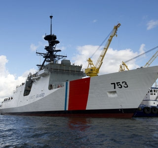 Multimedia Release -- Ingalls Shipbuilding Launches Fourth U.S. Coast Guard National Security Cutter