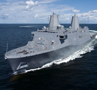Photo Release -- Ingalls Shipbuilding Delivers Amphibious Transport Dock Somerset