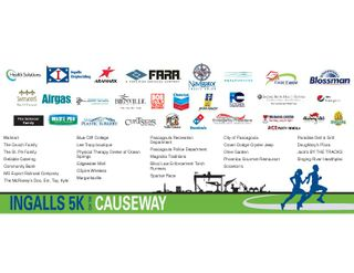 Ingalls 5K on the Causeway 2013 Sponsors
