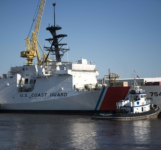 Media Advisory -- Ingalls Shipbuilding Celebrates Christening of U.S. Coast Guard National Security Cutter James (WMSL 754)