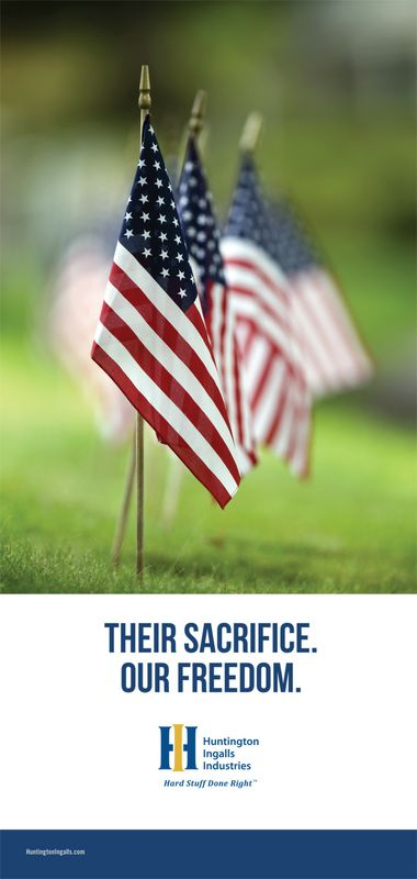 Their Sacrifice. Our Freedom