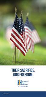 Their Sacrifice. Our Freedom