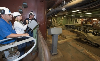 Ford Anchor-handling System Tested