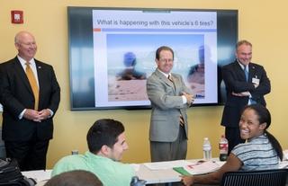 Sen. Tim Kaine visits Newport News Shipbuilding's Apprentice School