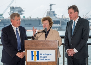 Senators Mikulski and Warner Visit Newport News Shipbuilding