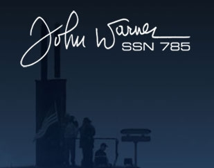 Christening of John Warner (SSN 785)