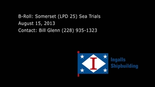 Somerset (LPD 25) Builder's Trials
