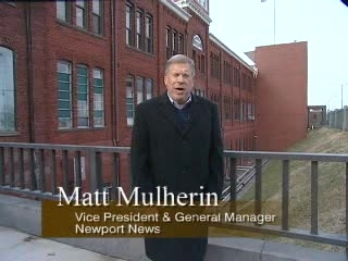 Matt Mulherin Celebrating 125th Anniversary of Newport News Shipyard