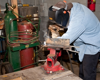 Welding Program at Bishop State