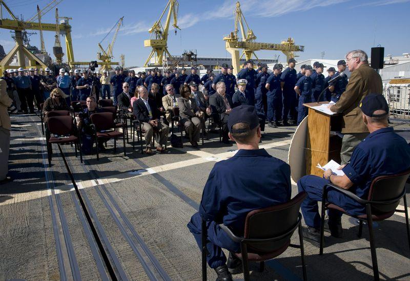 Bob Merchent, Northrop Grumman Shipbuilding