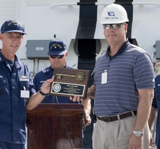 Photo Release -- Ingalls Shipbuilding Delivers National Security Cutter Hamilton to U.S. Coast Guard