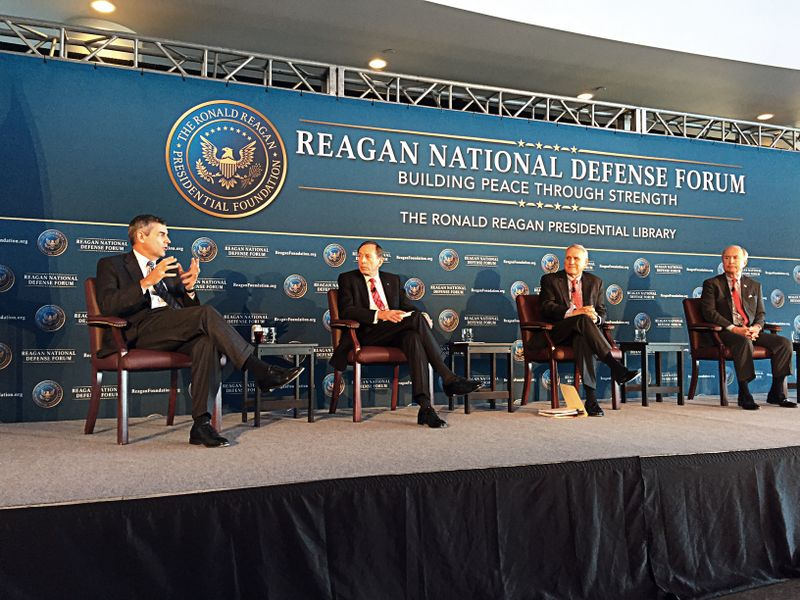 Mike Petters at the Reagan National Defense Forum