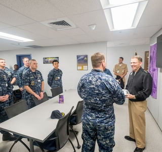 Photo Release--Newport News Shipbuilding Opens New Facility for Virginia-Class Submarine Sailors
