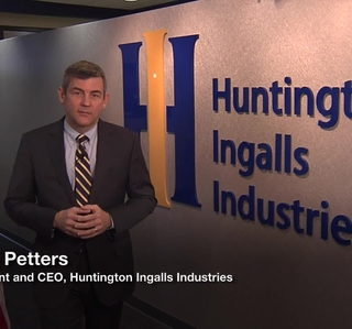 Video Release--Huntington Ingalls Industries and HII President and CEO Mike Petters Recognized by the Reserve Officers Association