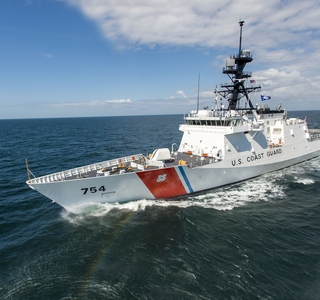 Video Release--Ingalls Shipbuilding's Fifth National Security Cutter, James, Sails the Gulf of Mexico for Successful Builder's Sea Trials