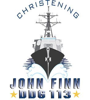 Christening of John Finn (DDG 113)