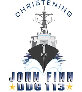 Christening of John Finn (DDG 113)