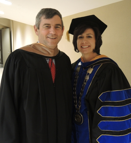 Mike Petters and Dr. Mary S. Graham