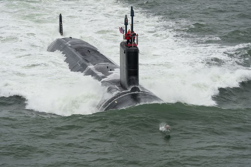 John Warner (SSN 785) Completes First Sea Trials