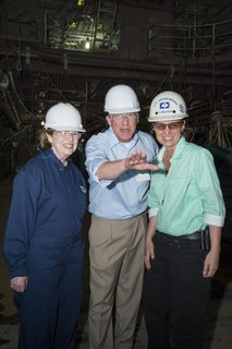 Sen. Roger Wicker Visits Ingalls Shipbuilding