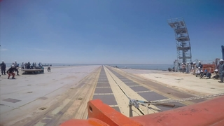 Gerald R. Ford (CVN 78) EMALS Demonstration, GoPro B-Roll