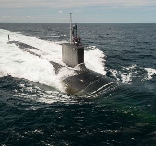 Photo Release--Submarine John Warner Delivered Ahead of Schedule