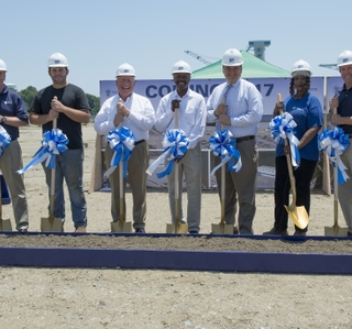 Photo Release—Newport News Shipbuilding Breaks Ground for Joint Manufacturing Assembly Facility