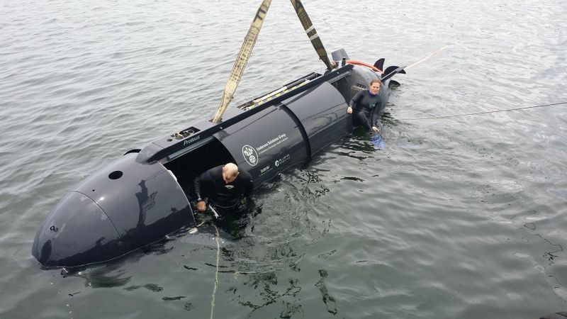 Undersea Solutions Group's Proteus Operated by Female Diver
