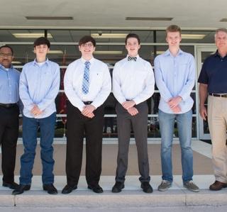 Photo Release--Ingalls Shipbuilding Awards National Merit Scholarships