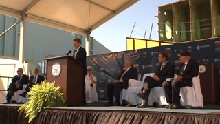 Highlights: John F. Kennedy (CVN 79) Keel Laying Ceremony