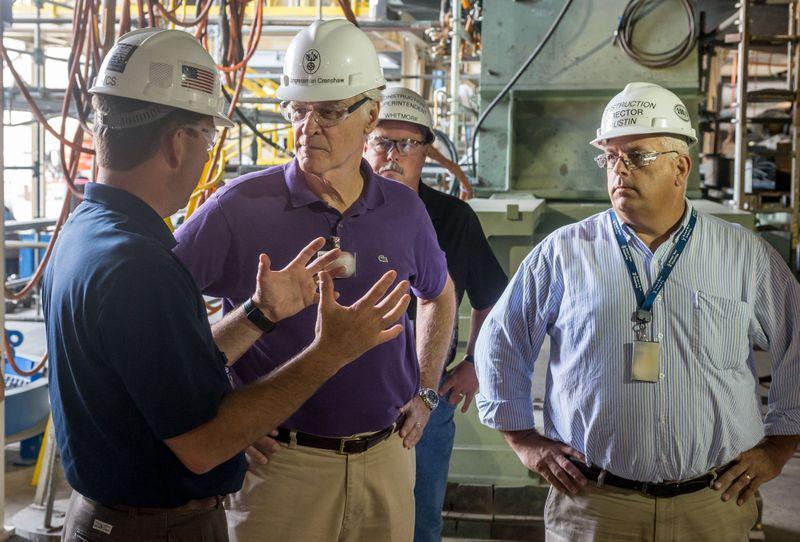 Rep. Ander Crenshaw visits Newport News Shipbuilding
