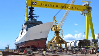 National Security Cutter Munro Translation and Launch
