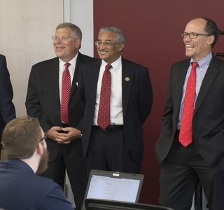 Secretary Tom Perez, Rep. Bobby Scott Visit Apprentice School