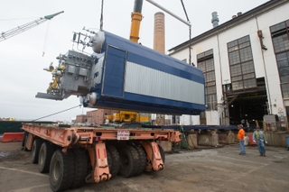 Steam Generation Plant Converted to Natural Gas