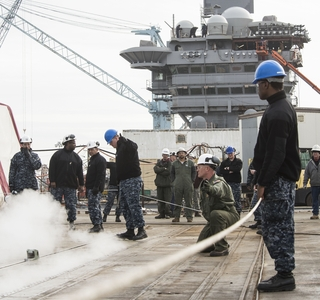 Video Release--Newport News Shipbuilding Conducts Catapult Testing on Aircraft Carrier USS Abraham Lincoln (CVN 72)