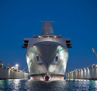 Video Release--Ingalls Shipbuilding Launches Amphibious Transport Dock Portland (LPD 27)
