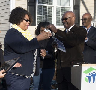 Habitat For Humanity Home Dedication