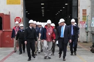 CNO, Congressman Visit CMSD